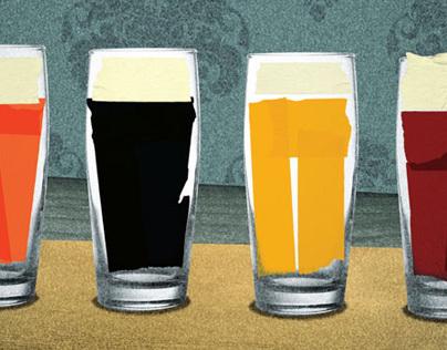 Rí Rá Irish Pubs - print work