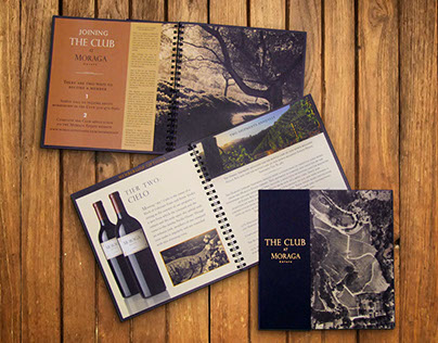 Brochure and Rackcard Design for Wineries