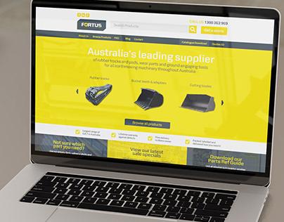 Fortus Group e-commerce Website