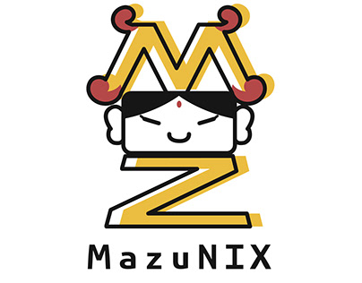 MazuNIX LOGO Design
