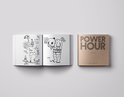 POWER HOUR   An Adult Colouring Book