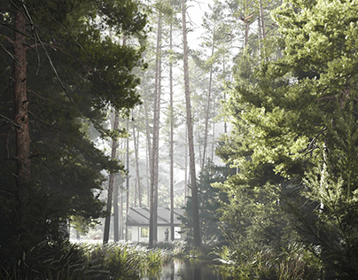 CGI \ Alone with the forest