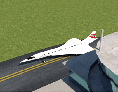 Concorde | 3D Modelling | TAFE QLD