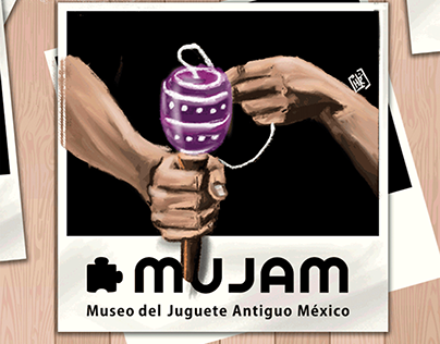 """Gif Mexican Toy colaboration with """"MUJAM"""""""