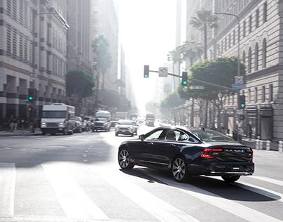 Volvo S90 - Downtown LA