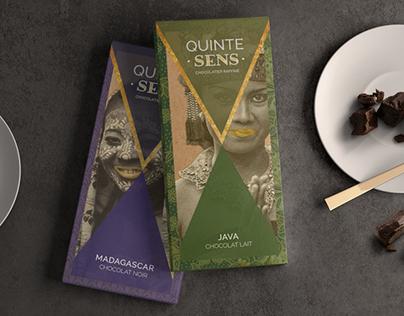 Packaging I Chocolat QuinteSens