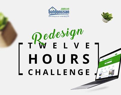 12 Hours Challenge | Redesign Homepage BatDongSan