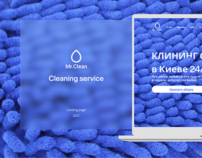 Landing Page|Cleaning service