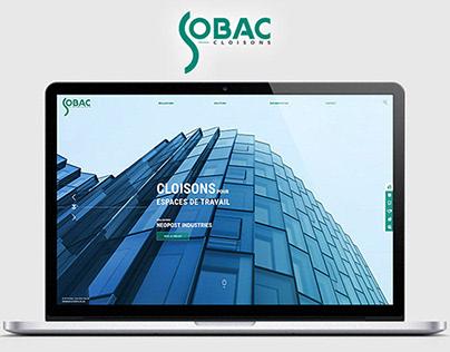 Site web Sobac Cloisons