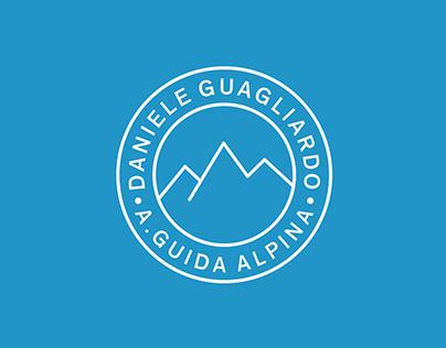 Brand identity for Daniele Guagliardo Mountain Guide