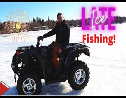 Late Season Ice Fishing Tips | The Anglers