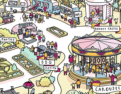 Quintessentially Illustrated Venue Map