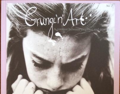"GRUNGE'n'ART MAGAZINE - ""Shallow"" [editorial - Feb.2015"