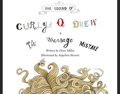 Curly Q Drew - Illustrated by Angelina Stevens