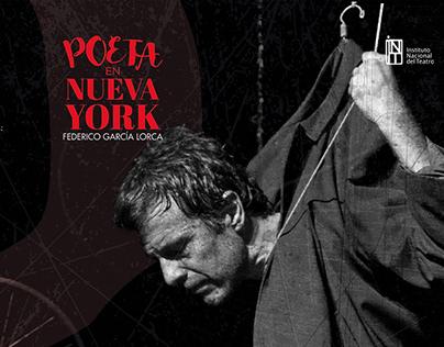 Poeta en Nueva York - Social media & Print Campaign