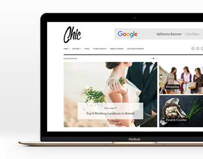 Chic - Lifestyle Blog WordPress Theme
