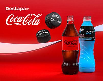 """Coca-Cola Mexico """"Destapa Más"""" Campaign"""