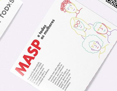 MASP e todas as mulheres - Diversity brochure