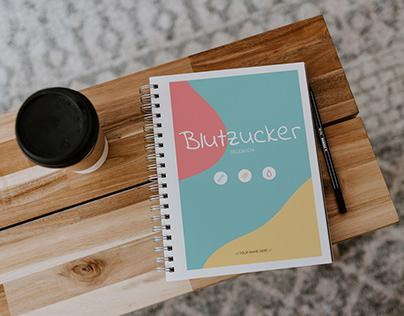 Diabetic Diary. Bookdesign.