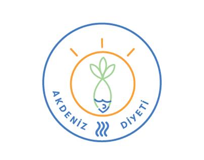 Akdeniz Diyeti - Mediterranean Diet Pack Logo Design