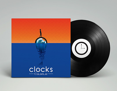 Vinyl & CD packaging Coldplay