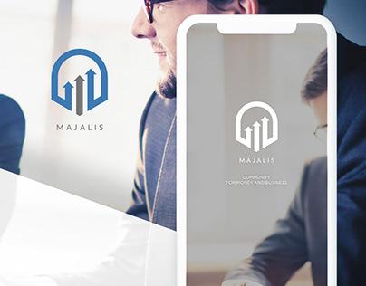 Mobile UI Design For Business & Companies Community App