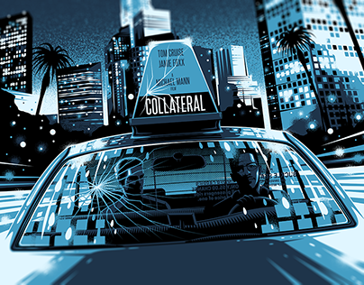 COLLATERAL Movie Poster for Hero Complex Gallery