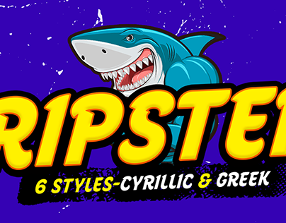 Ripster Typeface