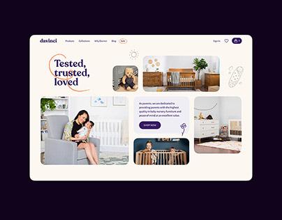 Davinci Website Redesign Concept