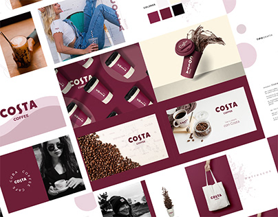 Costa Coffee Branding