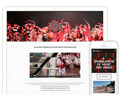 BatalaNYC Website Design