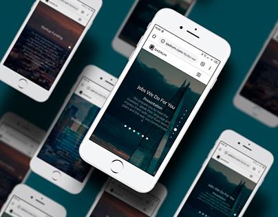 Strona www dla firmy Qadrum