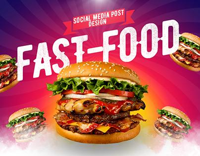 Social Media Design (fast-food)