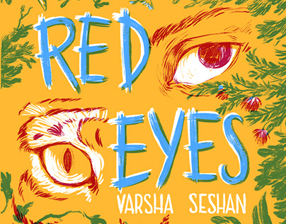 Red eyes cover
