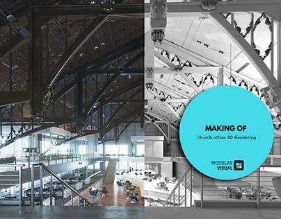 CGI Breakdown interior hall+VDO&gallery