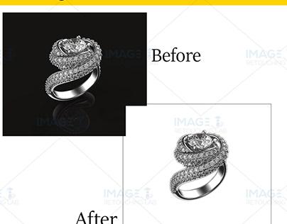 Jewelry Image Background remove