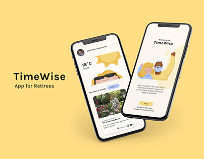 TimeWise– App for Retirees