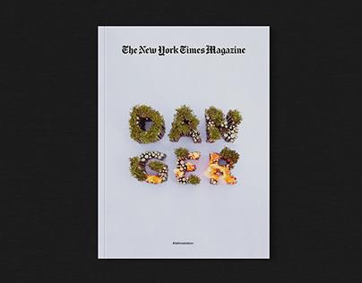 DANGER | The New York Times Magazine Cover