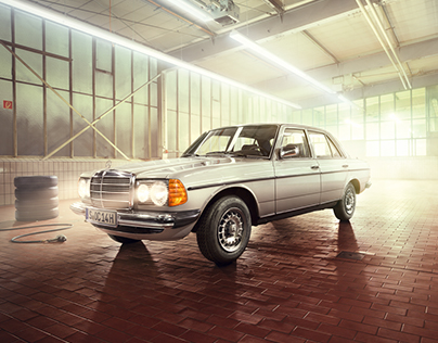 Mercedes Benz Classic with Anke Luckmann