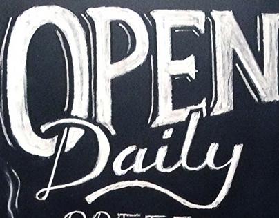 Chalk Signage - Ojai Valley Inn & Spa