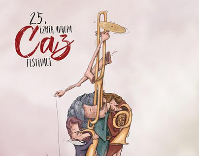 İzmir Caz Festivali Afişi