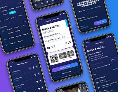 Moveee - Movie app concept