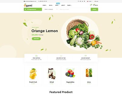 Woo-commerce website design
