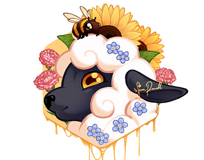 Sheep & Bee friend
