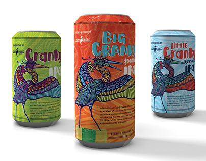 Stony Creek Brewery IPA Series Packaging