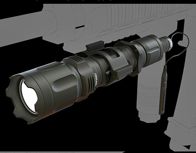 Terralux TT5-EX Tactical Flashlight