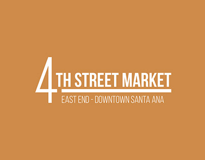 4th Street Market - Rebranding