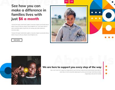 Fundraising Website Design