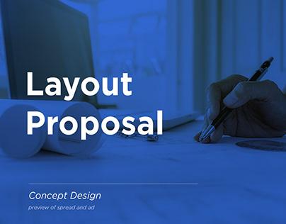 Layout Proposal   Ads Concept Design