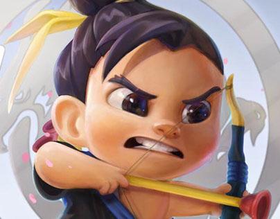 Chibi Hanzo